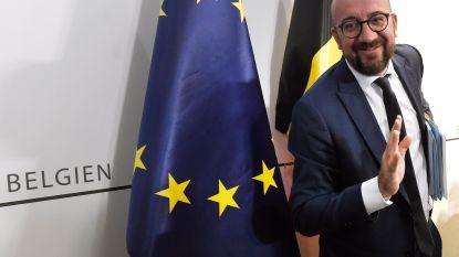 Michel speecht op klimaattop... maar over België kan hij beter zwijgen