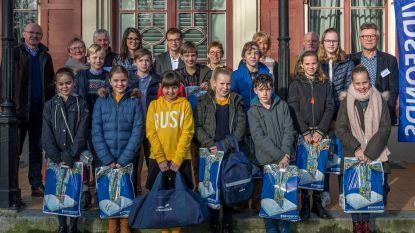 Davidsfonds kiest beste Junior Journalisten van Tielt