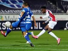 Mike Trésor krijgt duel in Zwolle met soloactie niet van het slot