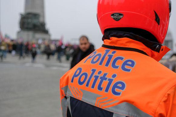 Politie Brussel.