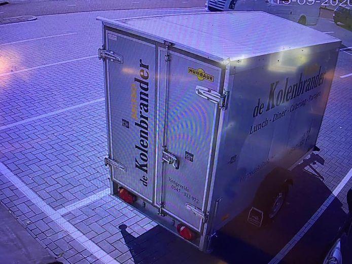 De koelwagen werd gestolen in de nacht van dinsdag 15 op woensdag 16 september