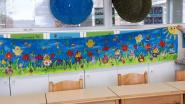Leerlingen Kadrie maken kunstwerk voor bewoners Sint-Vincentius