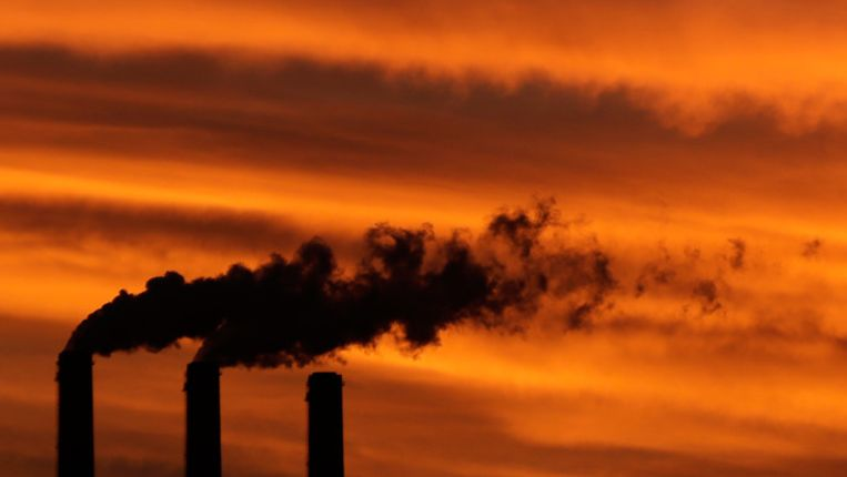 U gelooft niet in de opwarming van de aarde? Grote kans dat u PVV of SP stemt. Beeld ap