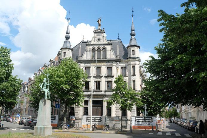 Het Antwerpse Rijksarchief in Zurenborg.