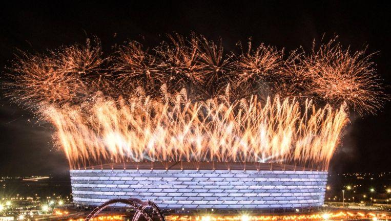 Het Olympisch Stadion in Bakoe