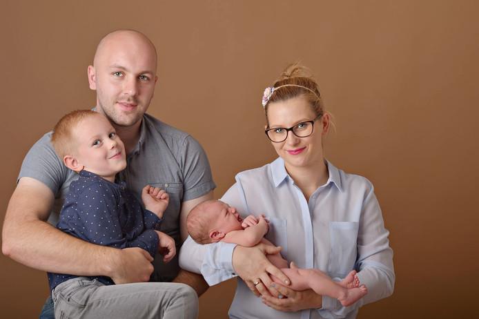 Oskar Kolodziejski en zijn gezin