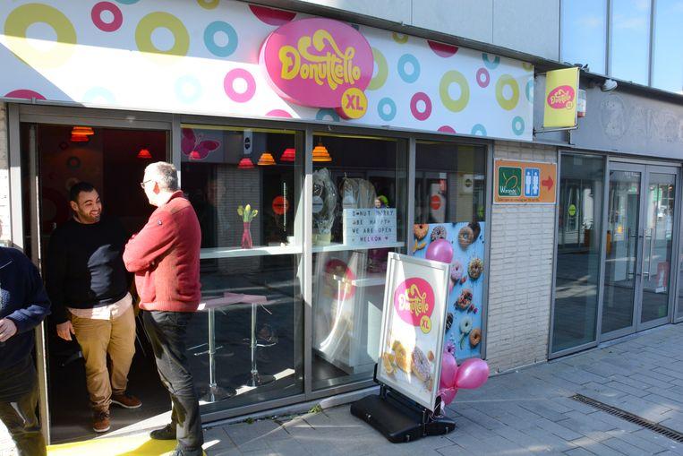 De vestiging van Donuttello in Warande Shopping heeft na een jaar de deuren reeds gesloten.