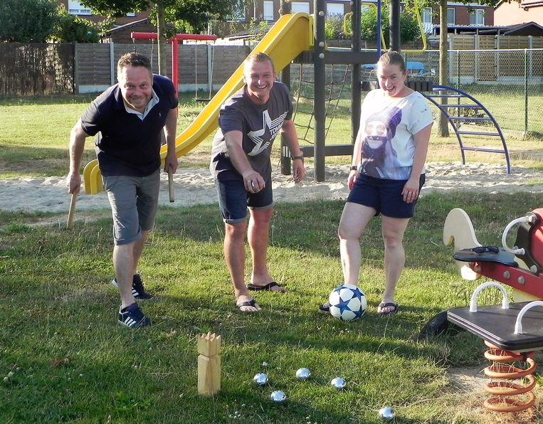 Het grasplein in de Rodenbachwijk wordt op 24 augustus opnieuw omgetoverd tot speelcamping 'Fin Congé'
