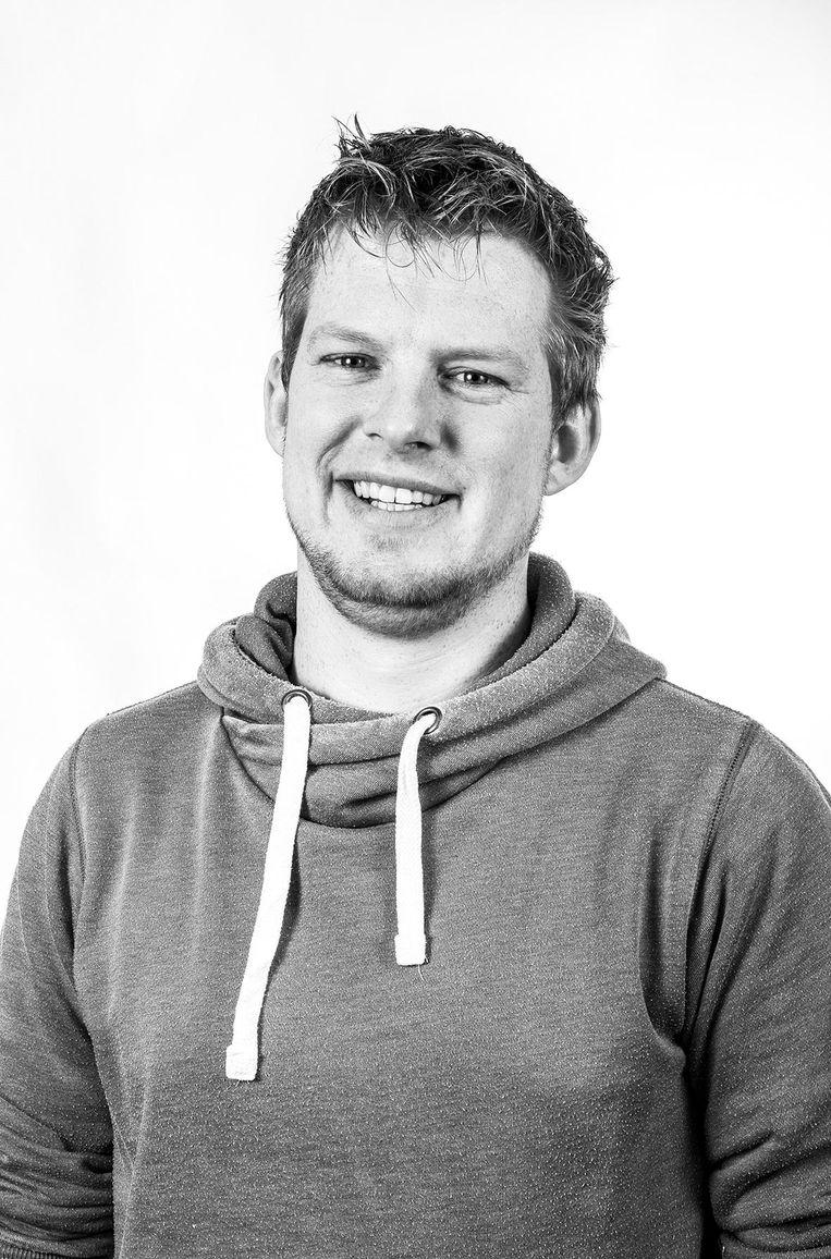 Martijn Altenburg, onderzoeker Citylogistiek Hogeschool van Amsterdam Beeld -