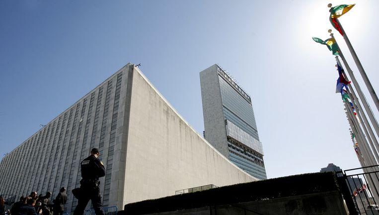 Het gebouw van de Verenigde Naties in New York. Beeld getty
