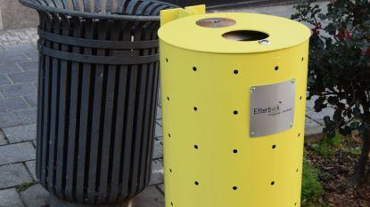 Etterbeek kiest voor 'flashy' gele vuilnisbakken