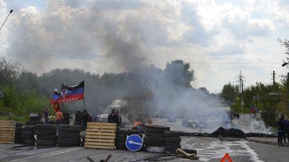 """Regering Oekraïne: """"Kramatorsk heroverd van de terroristen"""""""