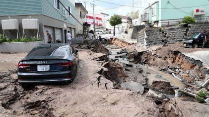 Verschillende doden en tientallen vermisten na sterke aardbeving in Noord-Japan