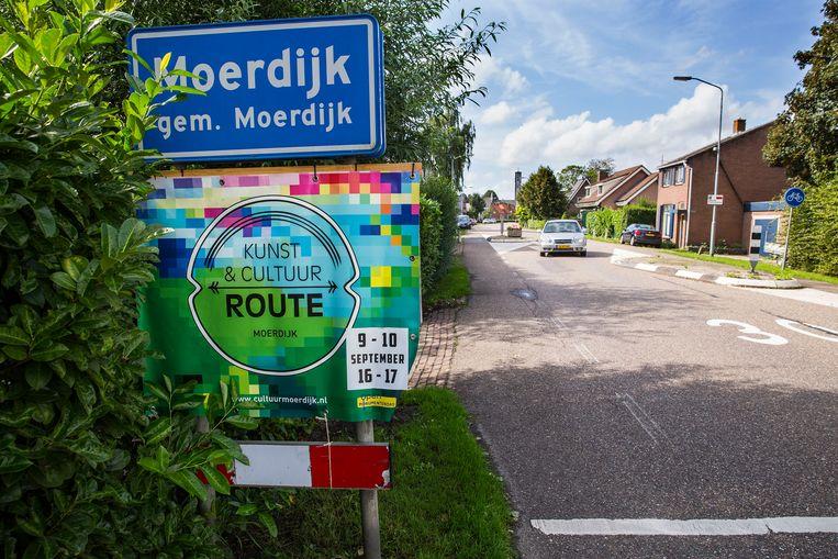De huizenprijzen in Moerdijk stijgen de laatste twee jaar harder dan in omliggende dorpen. Beeld arie kievit