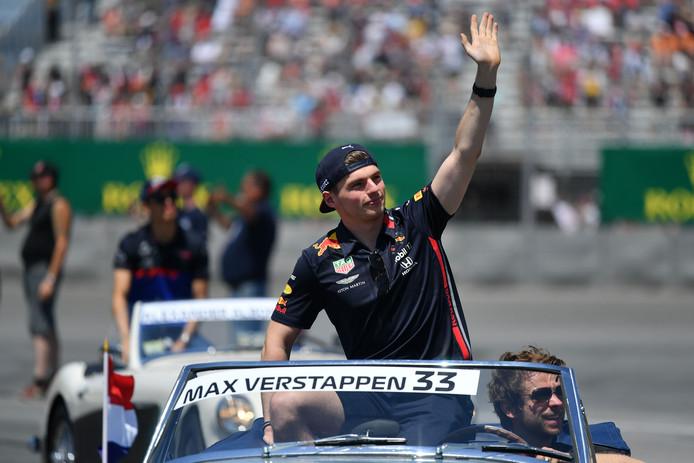 Max Verstappen staat op de vijfde plaats in de WK-stand.