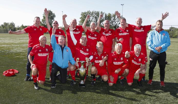 Het winnende team van FC Twente