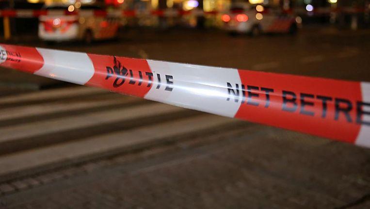 De politie heeft een Amsterdammer aangehouden voor betrokkenheid bij een schietpartij. Beeld anp