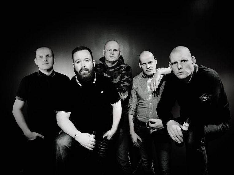 De vijf bandleden.