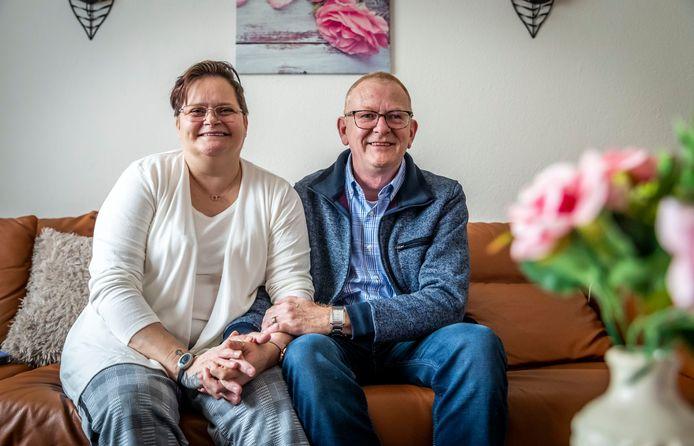 Christel van Hal en John Joppen.