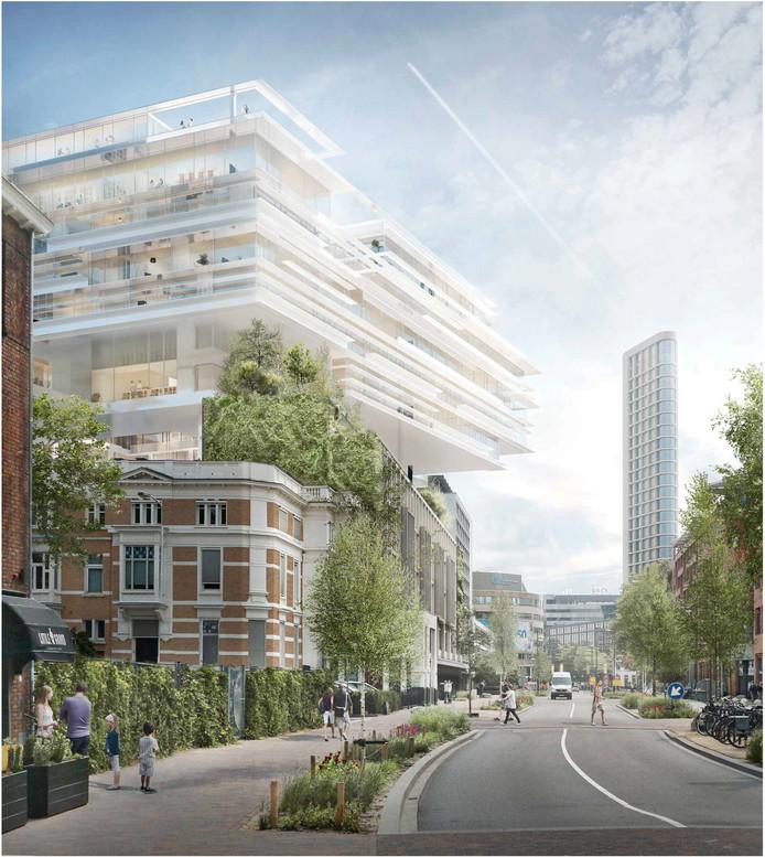 VDMA-plan Eindhoven van ABC, MOOI en Focus. Dit is een van de twee plannen die afvielen.