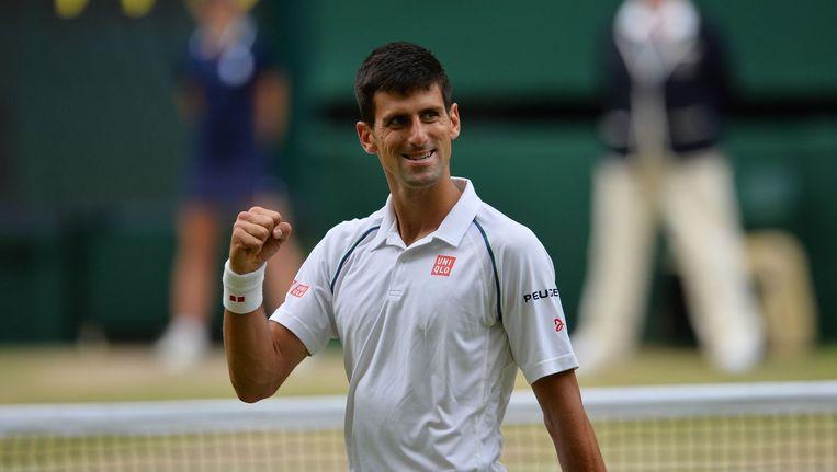 Novak Djokovic. Beeld anp