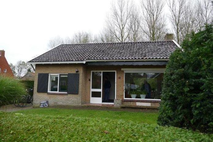 Het huis in Friesland dat de Arnhemse bij een loterij won.