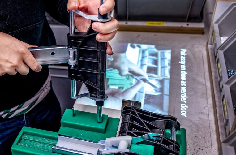 Bij Senzer zijn twee pilots uitgevoerd met augmented reality. Beeld Raymond Rutting