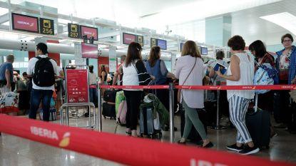 Storm en staking veroorzaken chaos op luchthaven van Barcelona