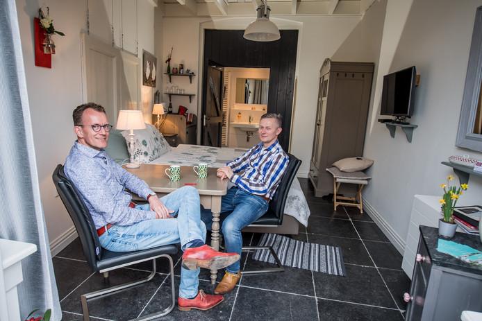 Marcel en Peter hebben bed & breakfast Den Soeten Inval.