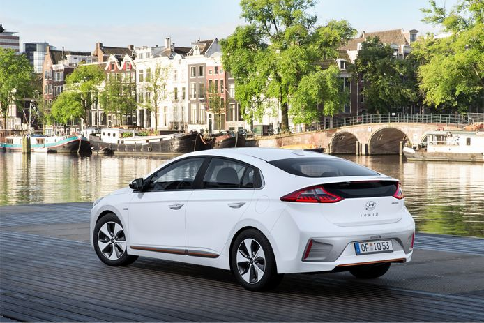 De Hyundai Ioniq behaalde de maximale score van vijf sterren