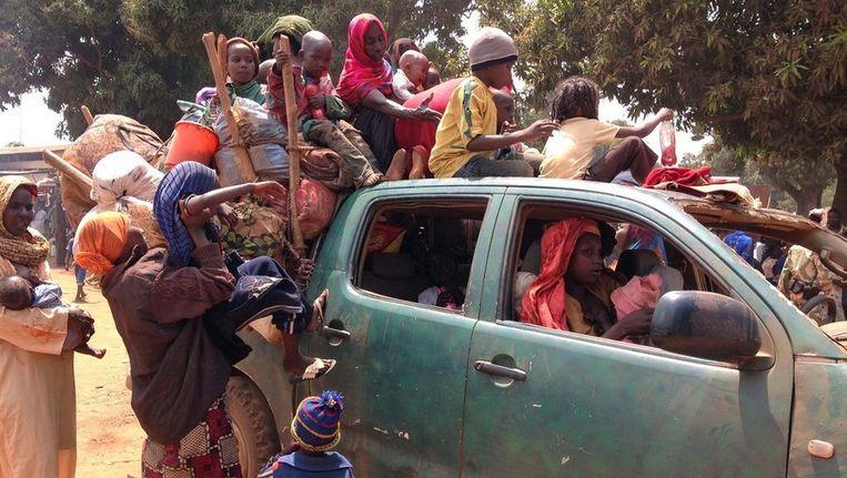 Bangui. Beeld epa