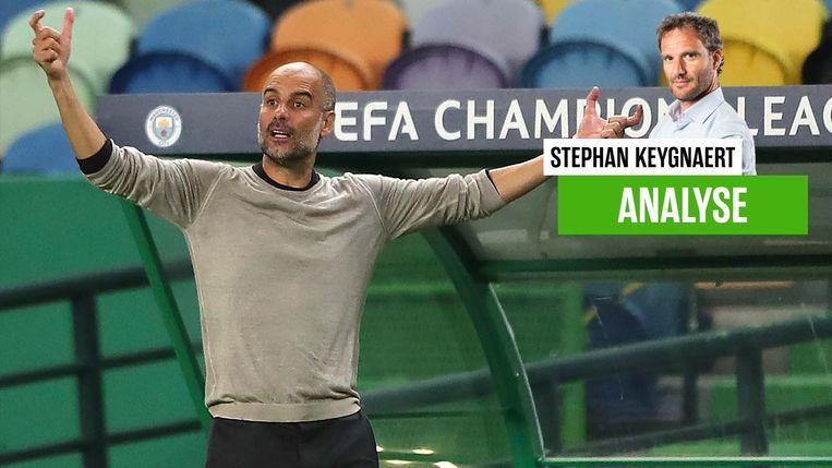 Pep Guardiola en Manchester City zijn uitgeschakeld.