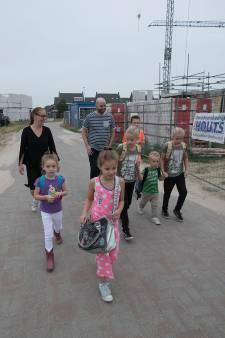 Zes kinderen van Leon en Ellen Sleegers allemaal naar dezelfde basisschool