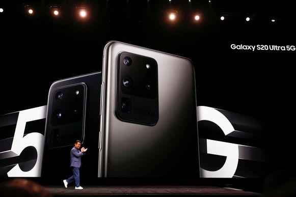 Dinsdag werd de Galaxy S20 voorgesteld, de eerste 5G-smartphone die ook in België zal verkocht worden.