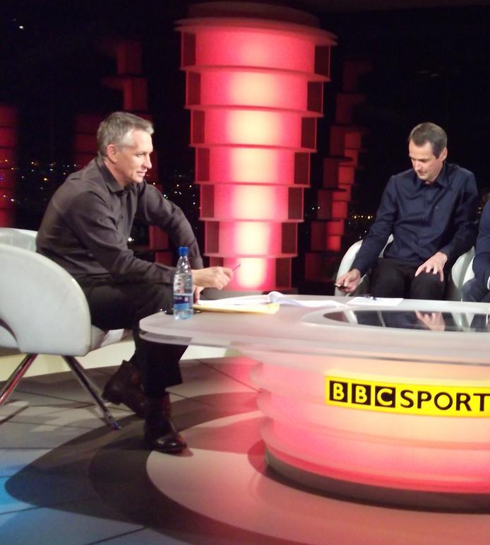 Gary Lineker is met Match of the Day, een overzicht van de gespeelde wedstrijden in de Engelse Premier League, een van de publiekstrekkers van de BBC.