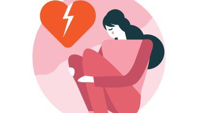 """Waarom we ook fysiek lijden onder liefdesverdriet: """"Op  de dag van het verbreken van een relatie heb je 21 keer meer kans op een hartaanval"""""""