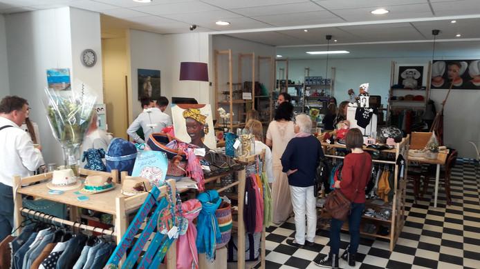 FairtradeUpgrade kort na de opening op zaterdagmorgen.