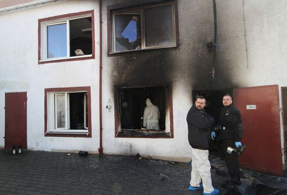 Bij de brand in de Poolse escape room vielen vijf doden.