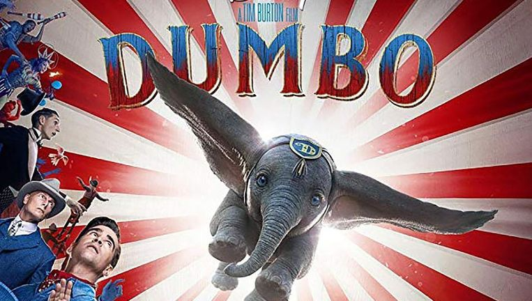 Dumbo Filmposter Beeld -