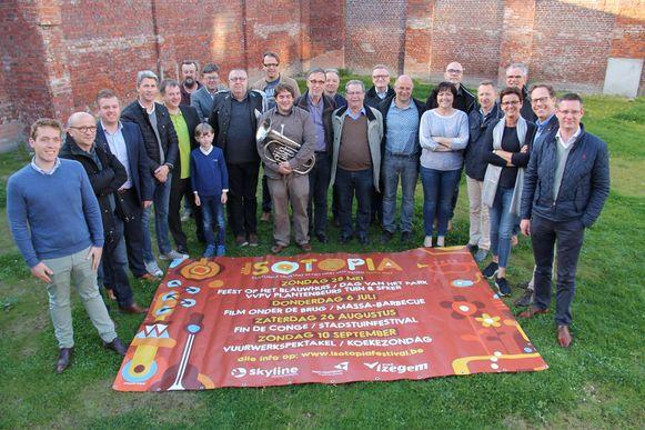 De organisatoren van het vernieuwde Isotopia.