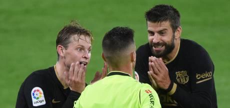 FC Barcelona met tien man langs Celta de Vigo