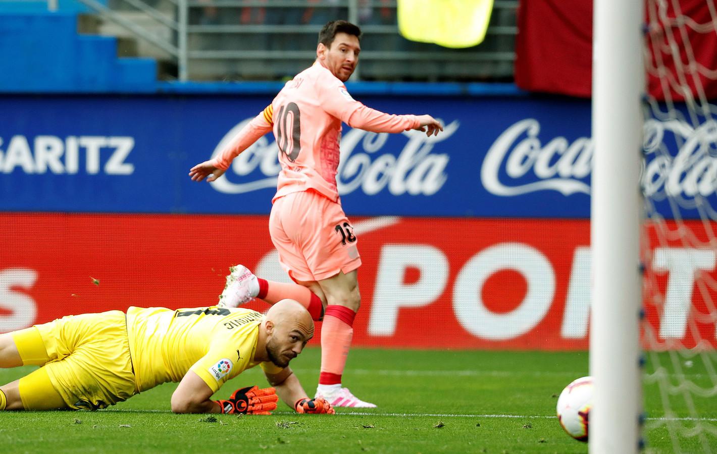 Lionel Messi, incontestable meilleur buteur de la Liga avec 36 buts.
