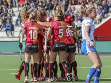 Hockeysters Oranje-Rood op koers voor play-offs