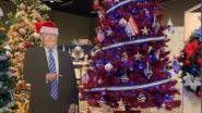 Trump-boom gediskwalificeerd uit kerstboomwedstrijd