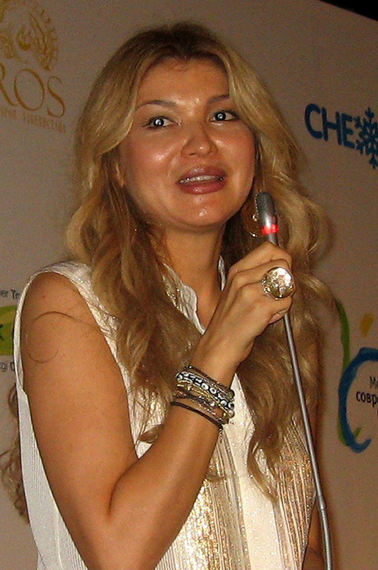 Gulnara Karimova. Beeld afp