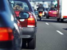 Ongeluk met twee auto's  op A59 richting Den Bosch, weg is weer vrij