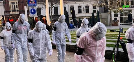 'Slavenmars' door Tilburg en andere steden: 'Zo ziet de toekomst eruit als we niet uitkijken'