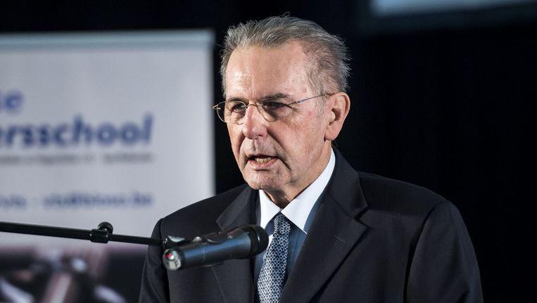 Voorzitter van het IOC Jacques Rogge Beeld ANP