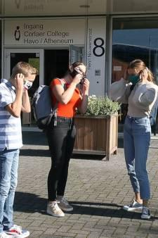 Mondkapjes verplicht in gangen Corlaer College Nijkerk