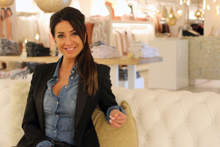 Romy Biscop in haar winkel Mio Caro.